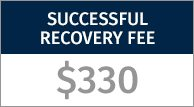 Successful Recovery Fee $330